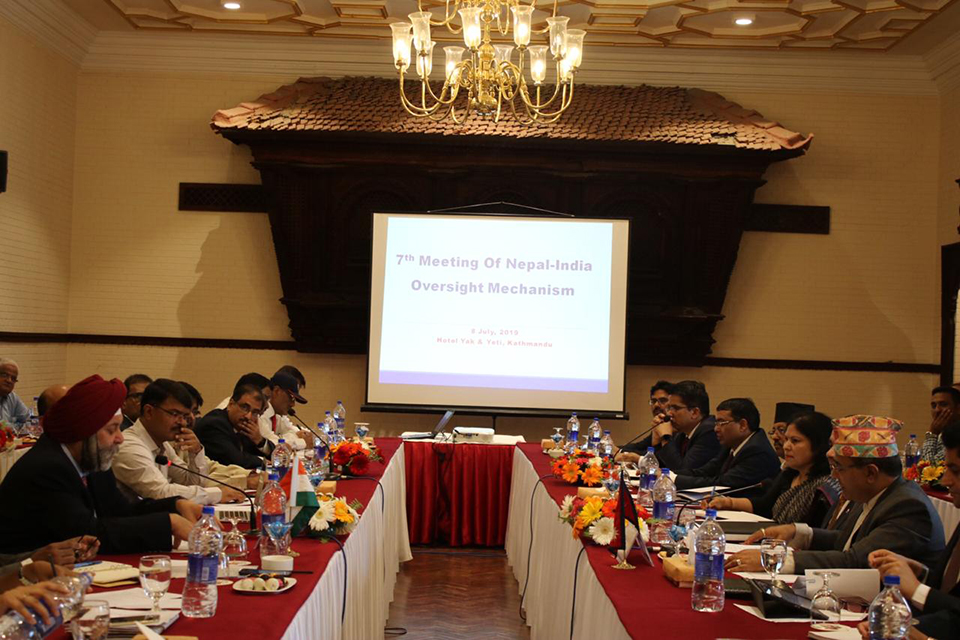 Nepal-India agree to address problems for project implementation