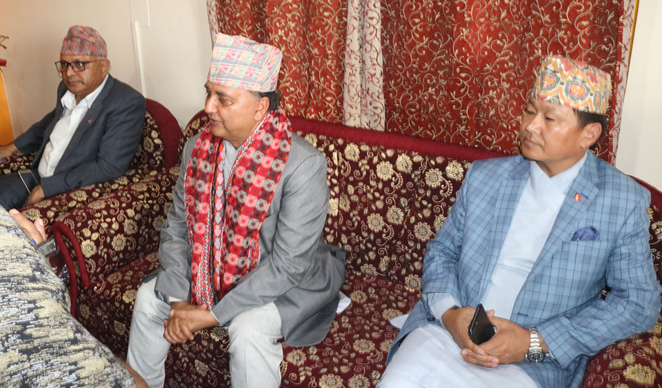Talks only if arms and violent activities are shunned: DPM Pokharel