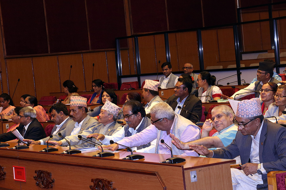 NA endorses Appropriation Bill-2076 BS