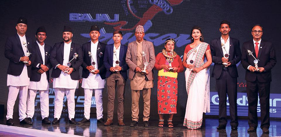 Paragliding dominates NSJF Award, Sabitra Bhandari wins Women's Player of the Year