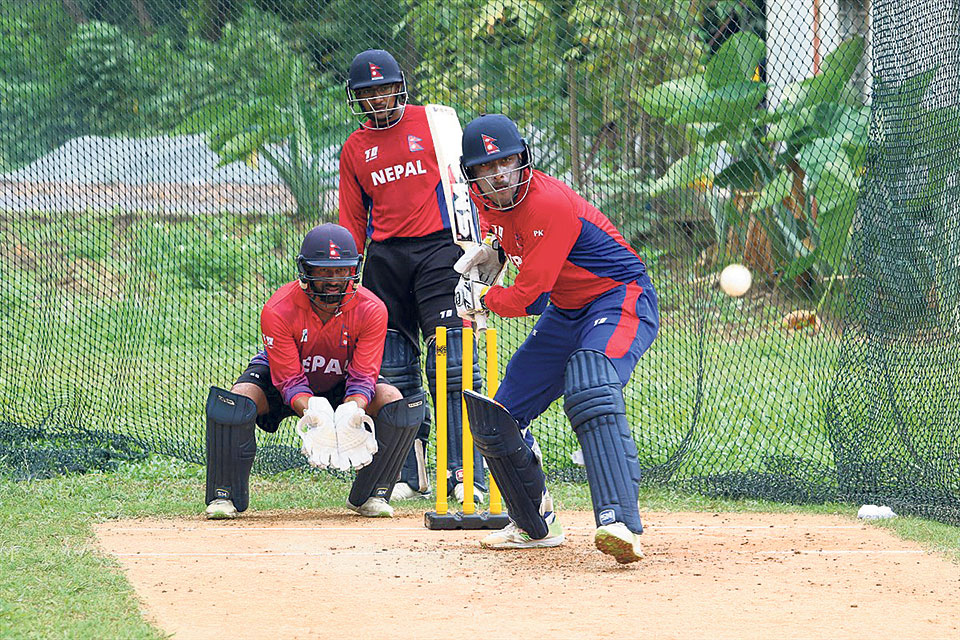 Nepal faces Kuwait in a must-win match to reach global qualifiers