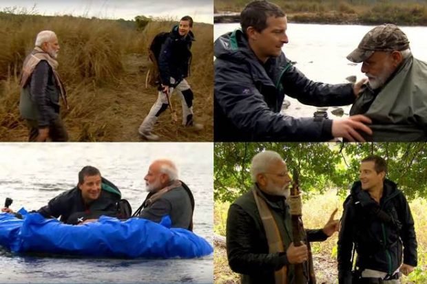 Indian PM Modi to feature on show 'Man Vs Wild'