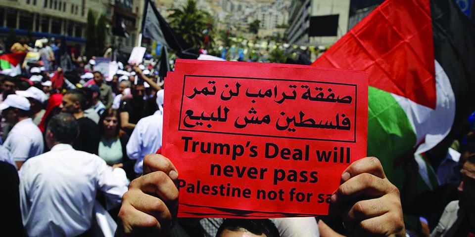 No economic peace for Palestinians