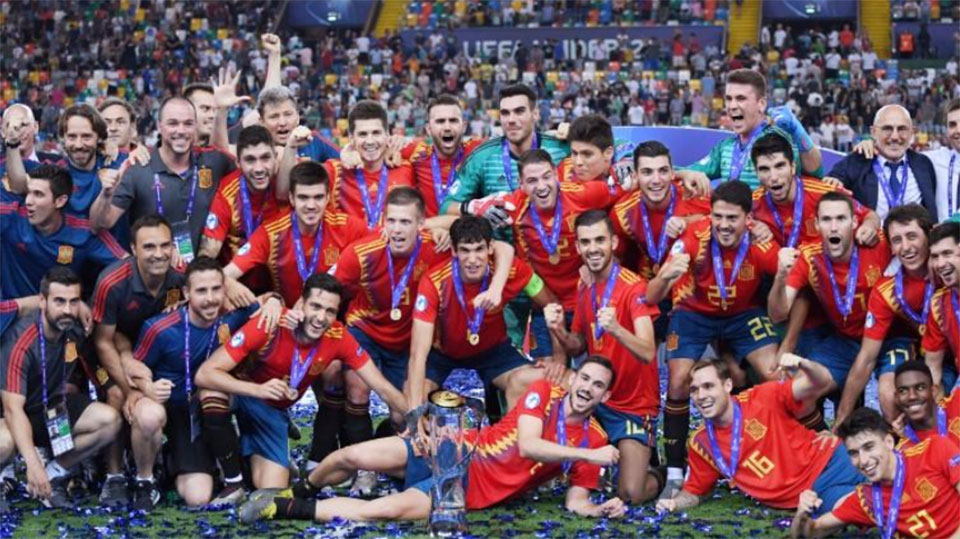 Spain beat Germany 2-1 to claim Euro under-21 title