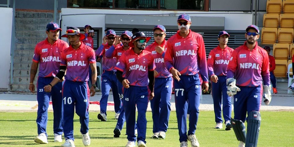 Nepal's T20 World Cup dream shattered after losing to Singapore