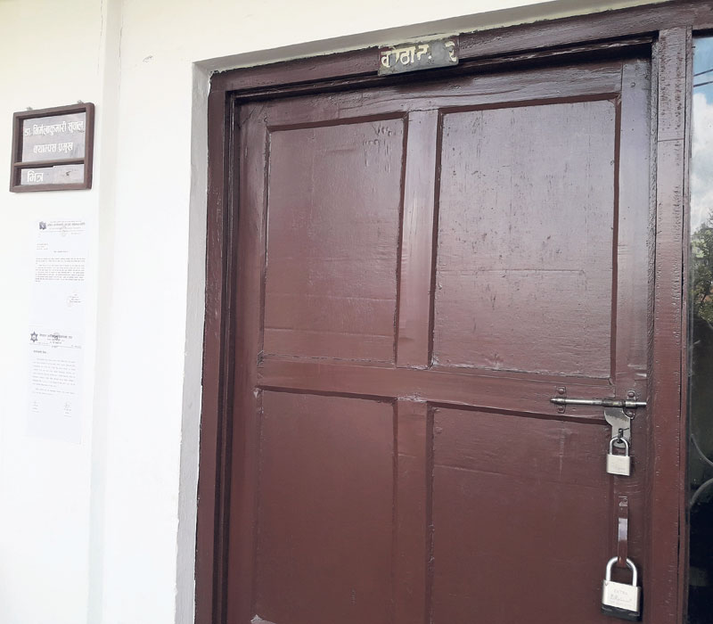 Chand-led group padlocks twelve ward offices in Achham