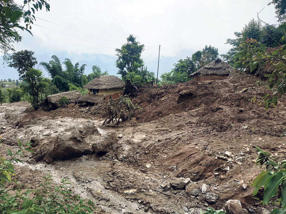 Gulmi landslide death toll reaches 12 as three missing found dead