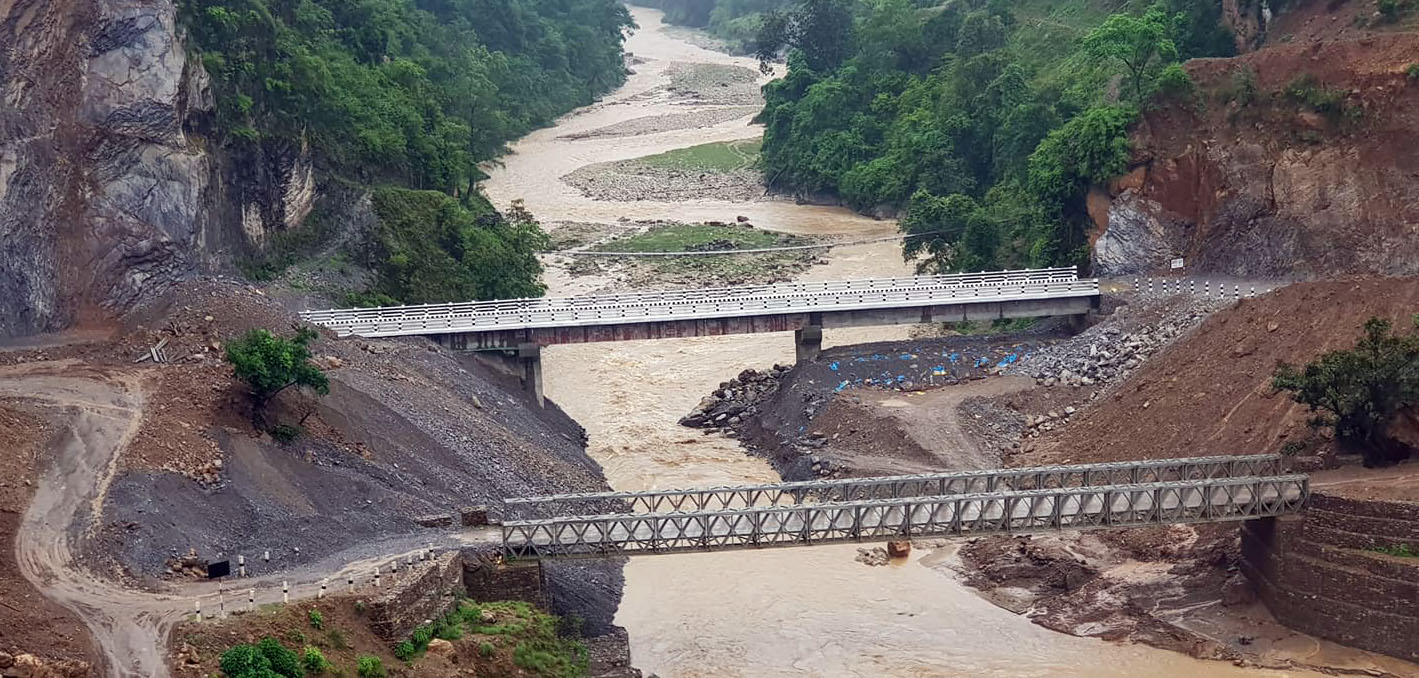 Madi bridge finally complete after a decade of uncertainty