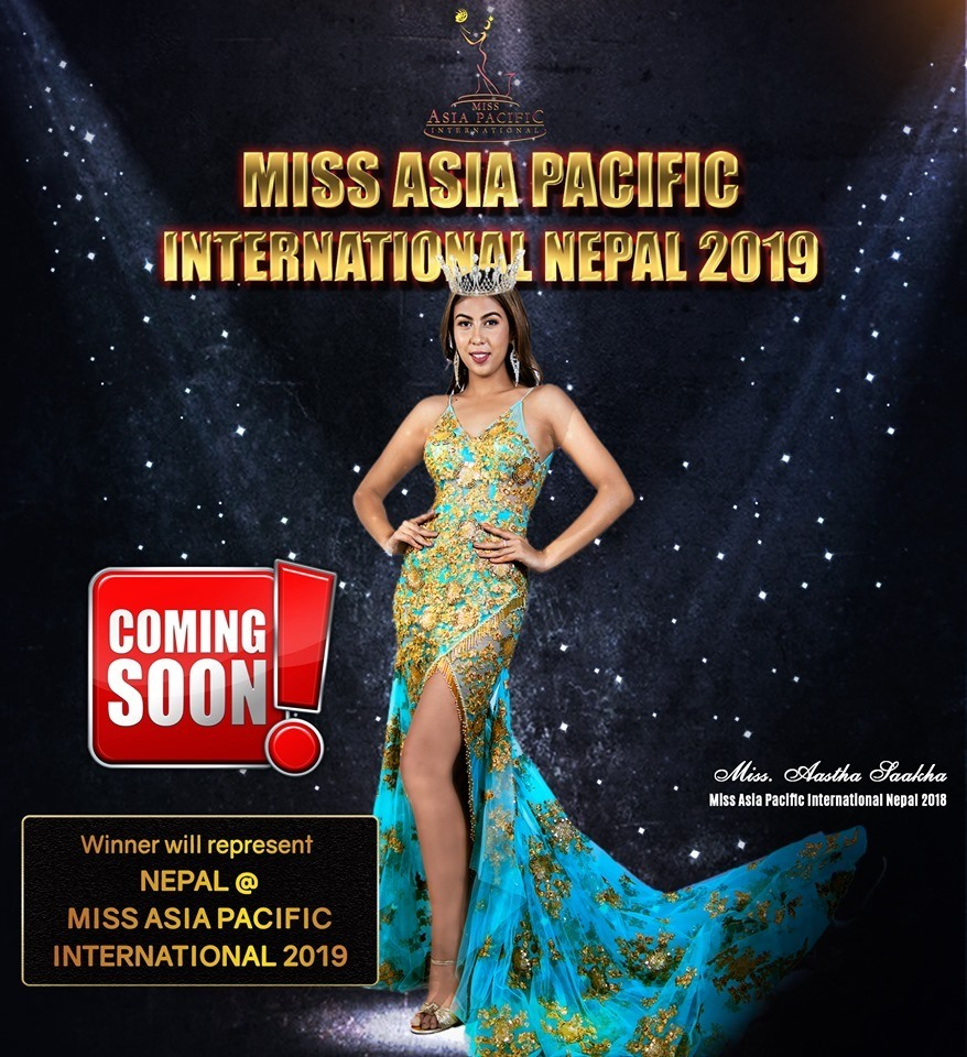 Gearing up for 'Kingfisher Miss Asia Pacific International Nepal 2019'