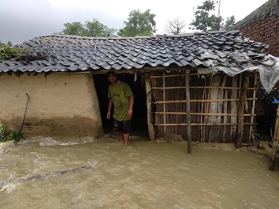 Floods cripple Mahottari