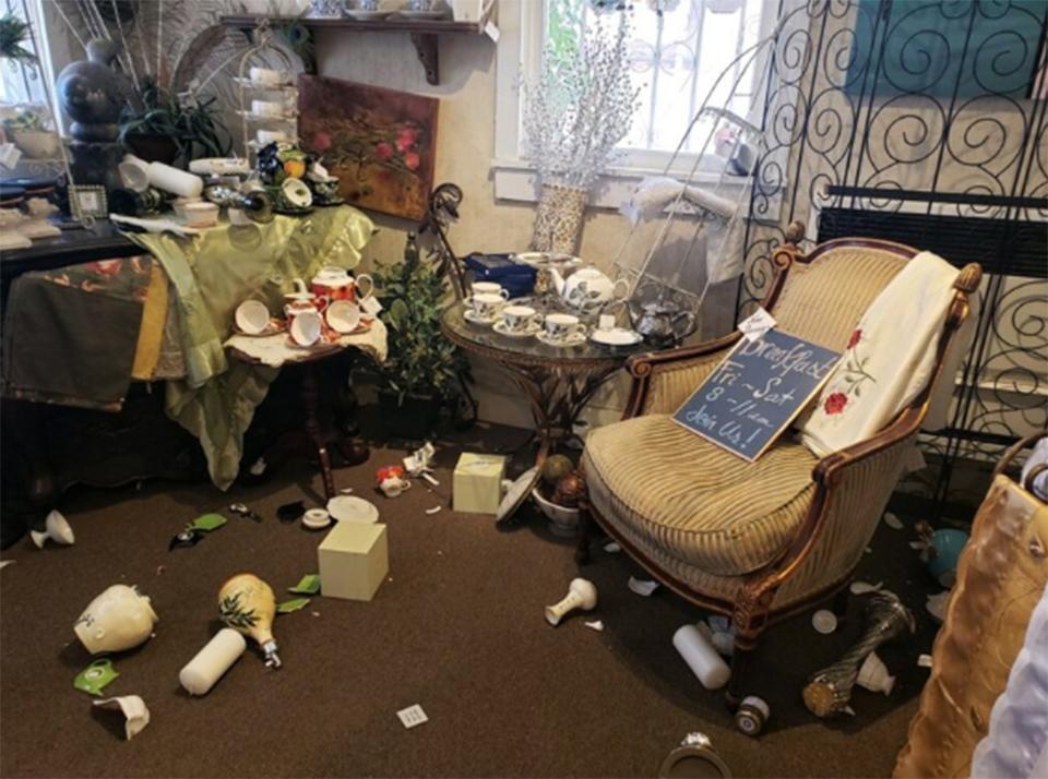 6.9 earthquake felt in Southern California