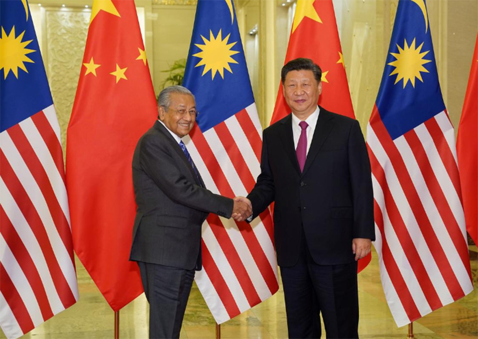 China, Malaysia restart massive 'Belt and Road' project after hiccups