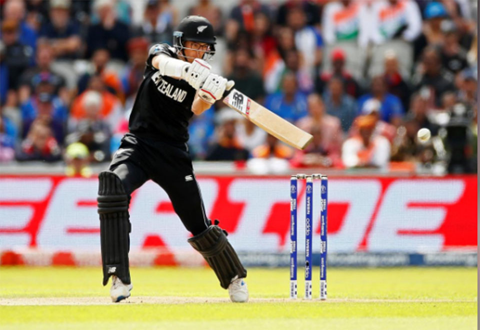 New Zealand post 239-8 against India