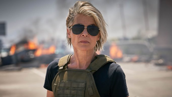 Returning to 'Terminator: Dark Fate' real 'gift' for Linda Hamilton