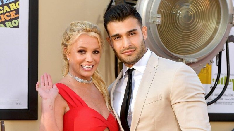 Britney Spears, Sam Asghari attend 'Once Upon A Time in Hollywood' premier