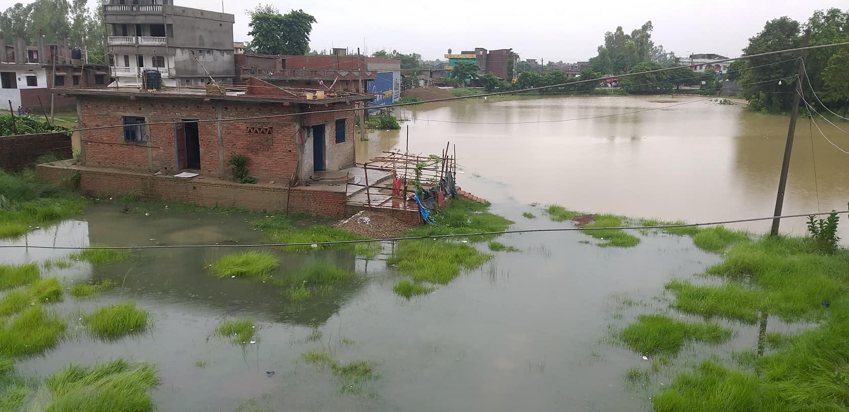 Several villages inundated in Rautahat, East-West Highway blocked