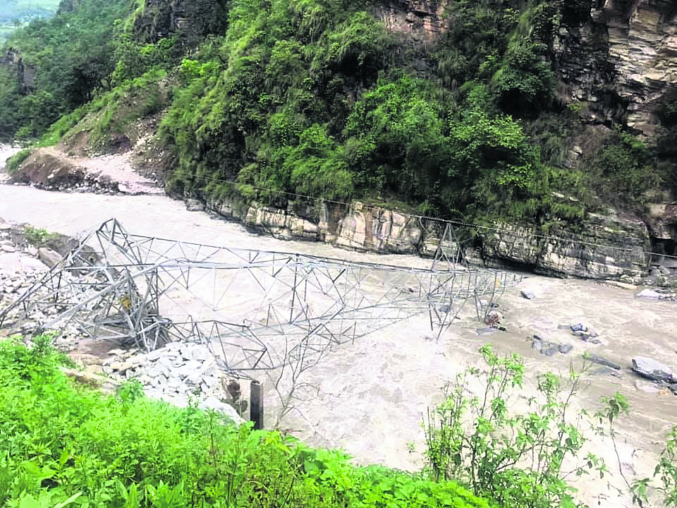 2 missing, hydropower projects damaged in Sidhuopalchwok due to incessant rain