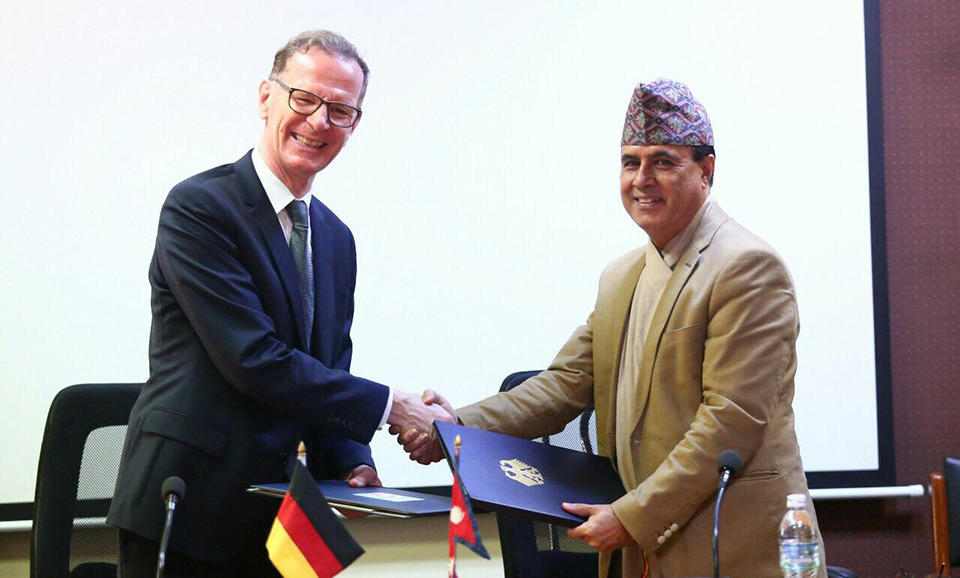 Germany to provide Euro 24.3 million  to Nepal