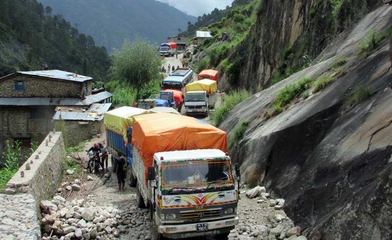 Karnali Highway reopens to traffic after four days