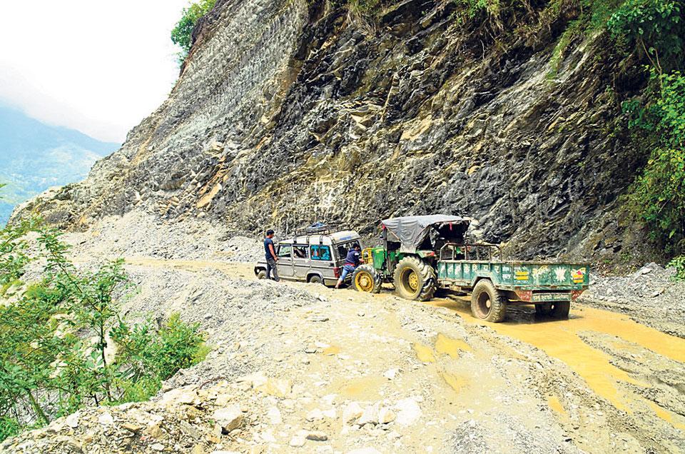 Status of major highways across Nepal (police updates)