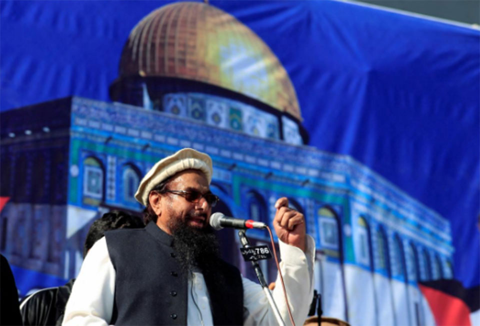 Pakistan arrests accused militant leader Hafiz Saeed
