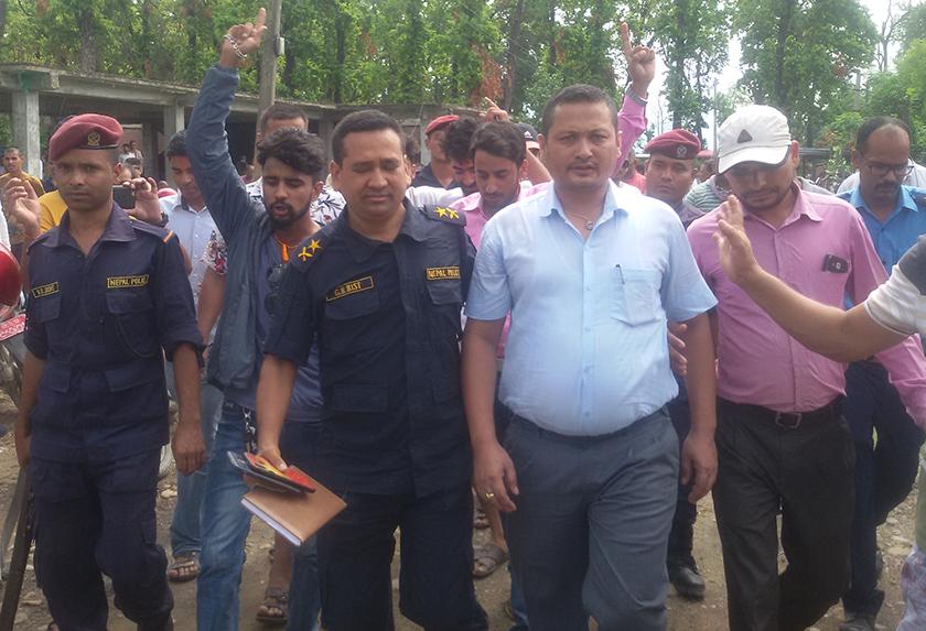 Entrepreneurs arrested in Kailali