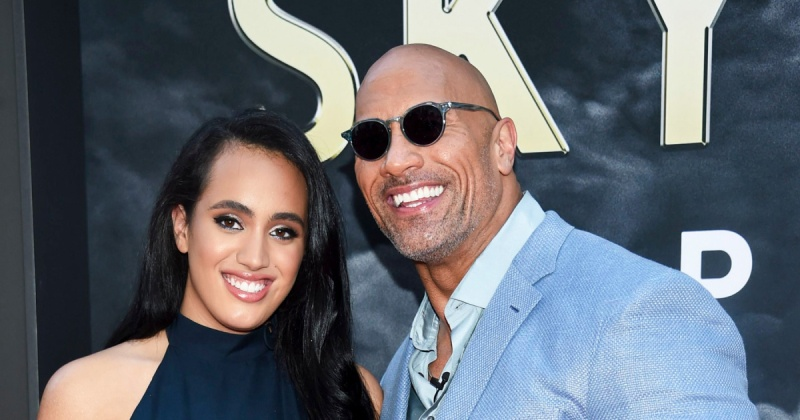 Dwayne Johnson 'excited' about daughter attending college, says 'she's earned it'