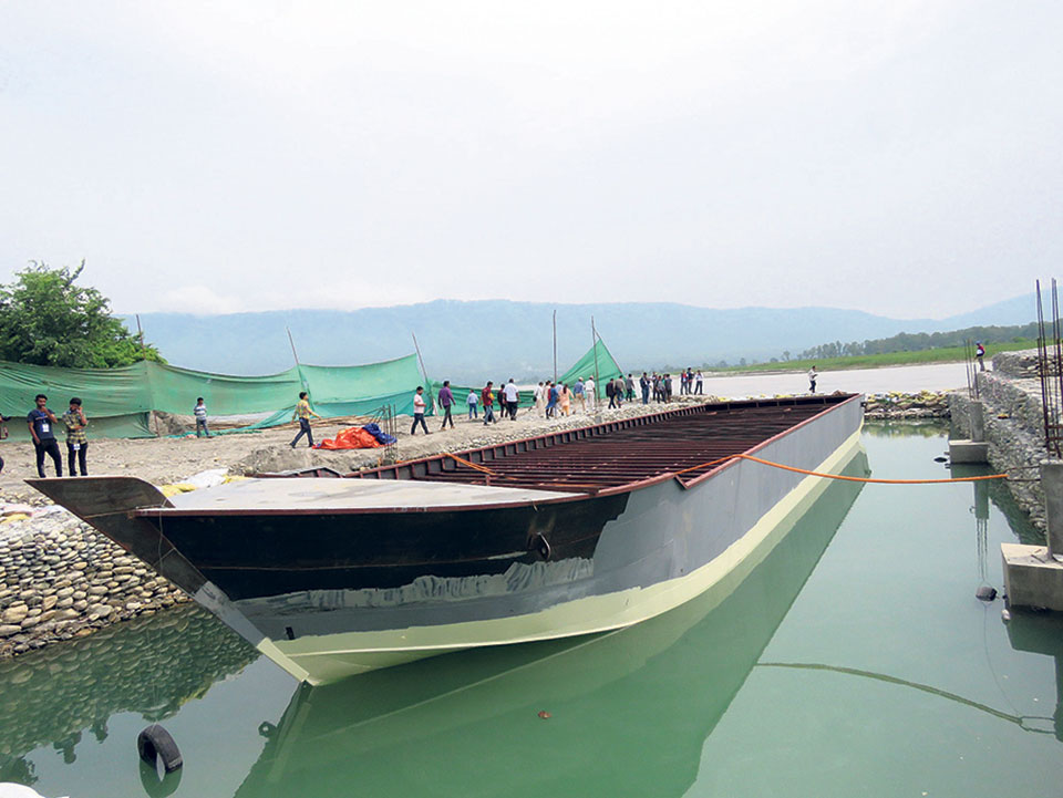 Narayani River might offer riverboat cruises this Dashain
