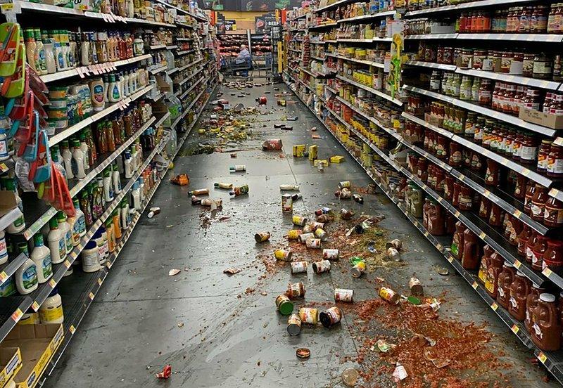 Latest Southern California quake causes damage, injuries