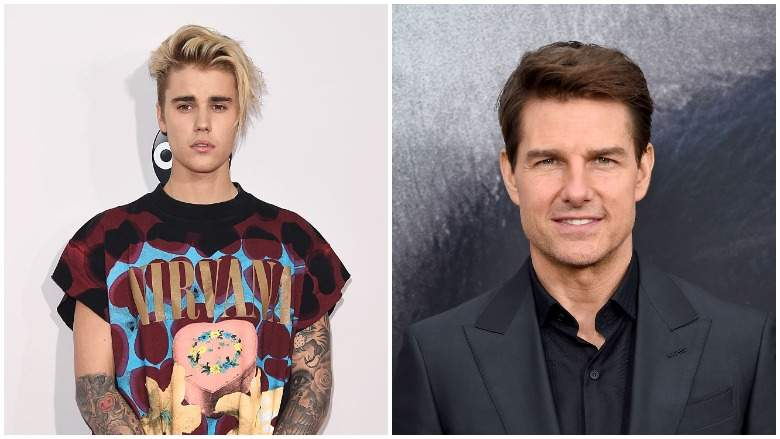 Justin Bieber says he was not serious about fight challenge with Tom Cruise