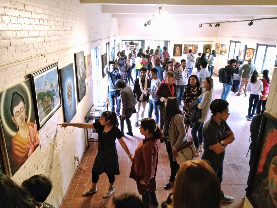 Art exhibitions around the town