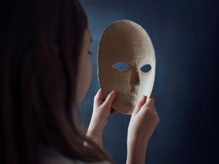 Worn Mask