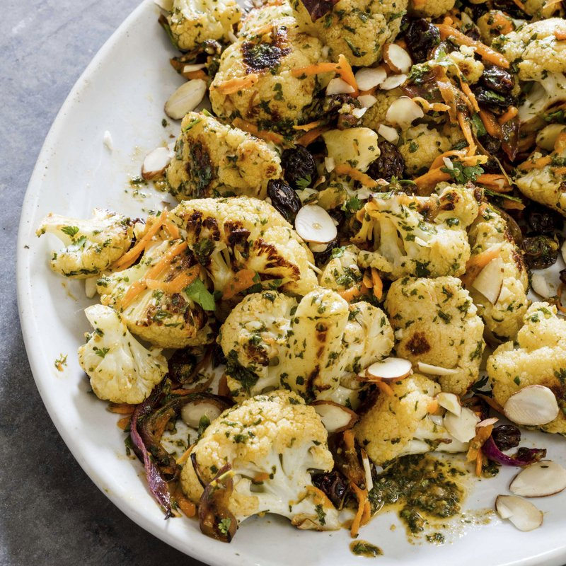 For a zippy cauliflower salad, why not go to Morocco?