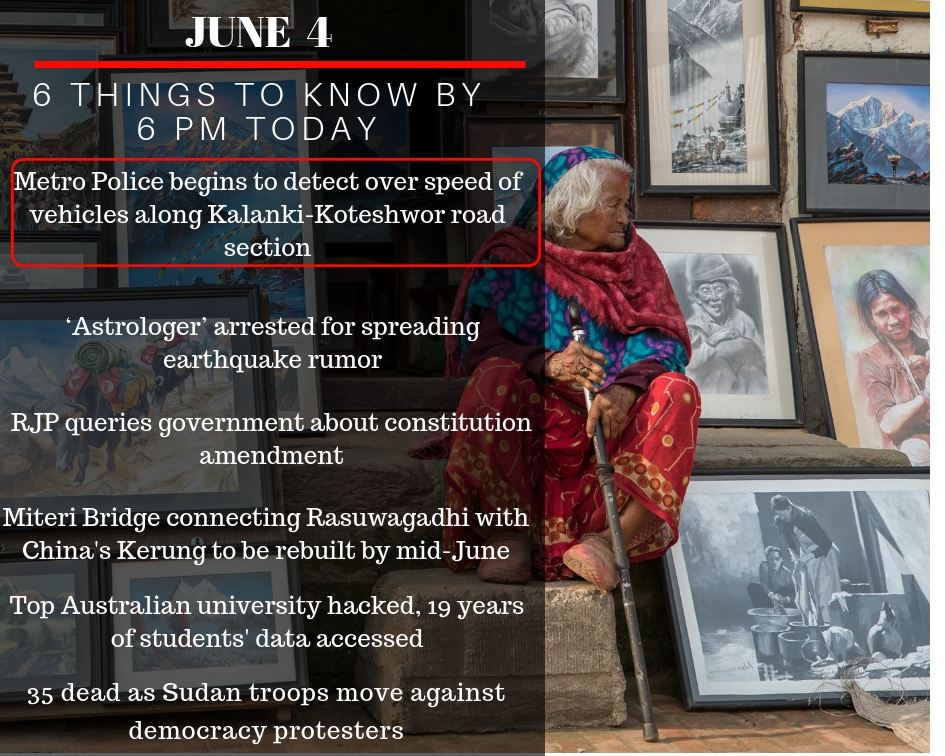 June 4: 6 things to know by 6 PM today