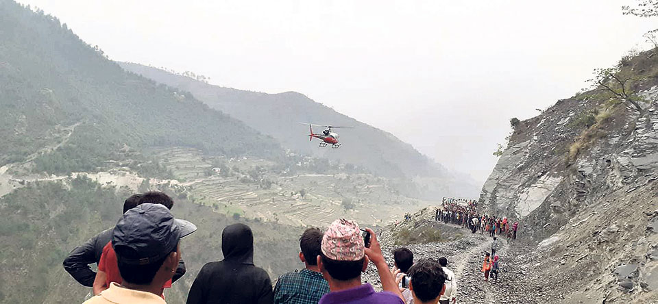 10 killed in Bajhang jeep accident
