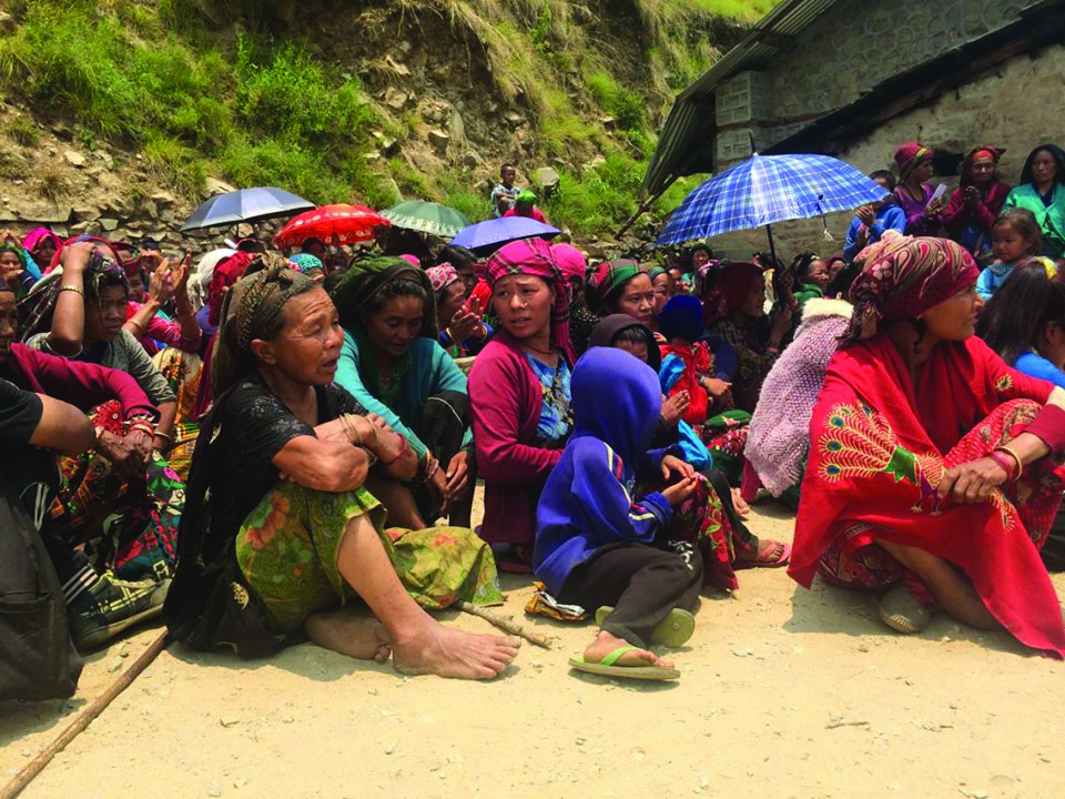 Child marriages ending up in divorces in Rukum