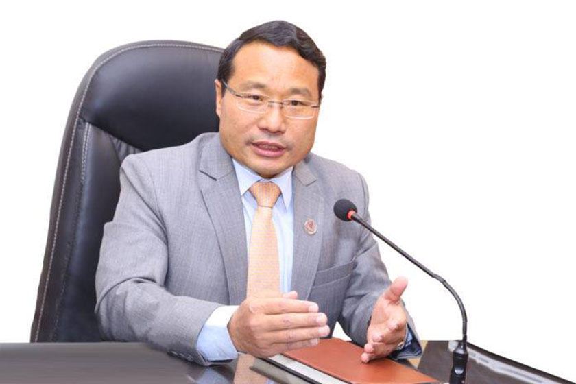 Minister Pun refutes rumor of handing over Budhi Gandaki hydro project to Gezhouba