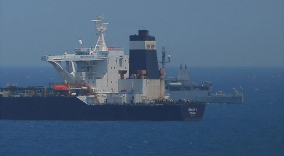 Iran calls on Britain to release seized oil tanker immediately