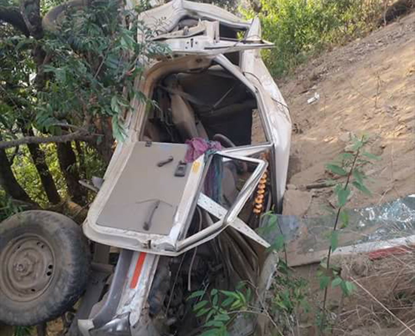 Update: Nine killed, five injured in Bajhang jeep accident