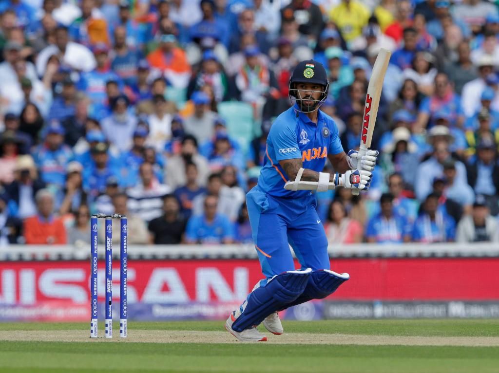 Dhawan-led top order powers India to 352-5 against Australia