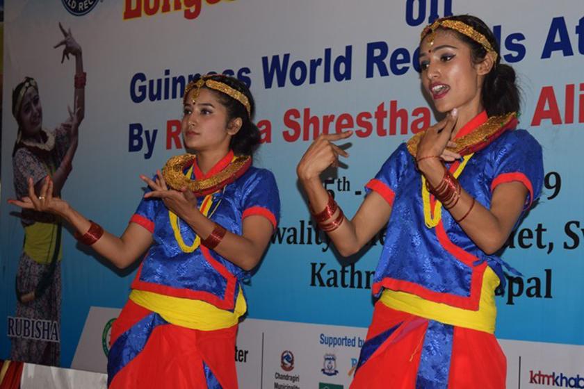 Siblings make world record in couple dancing