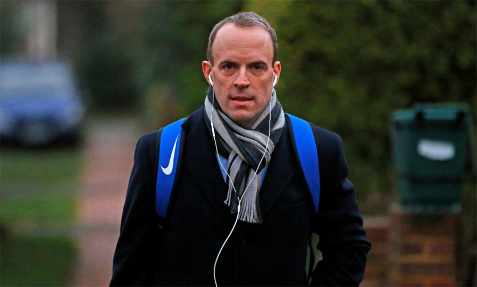 PM candidate Raab says suspending parliament remains a Brexit option
