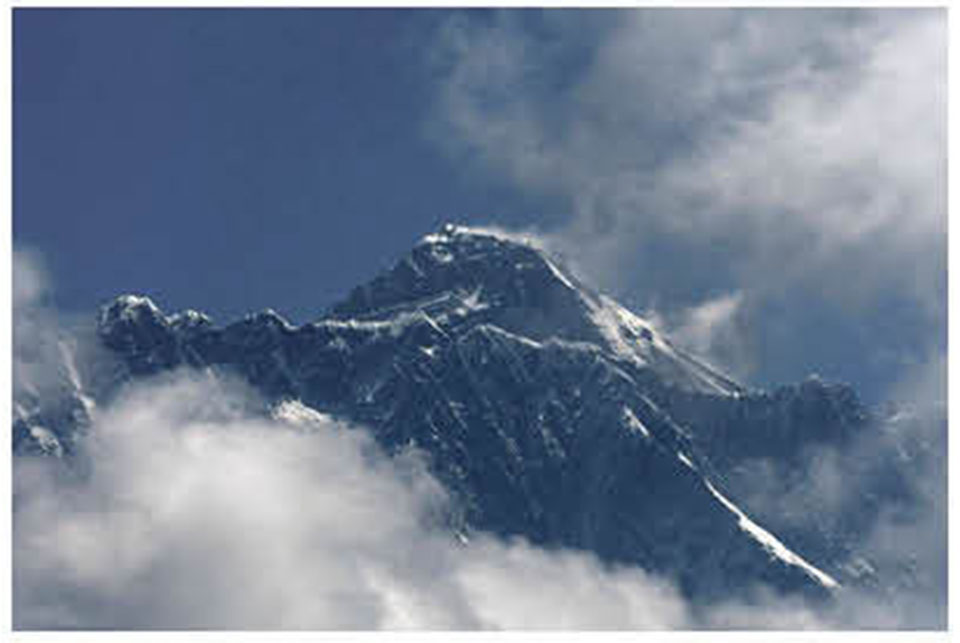 Final height of Everest may take a year: Survey Dept