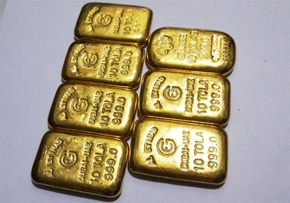 66 kg of gold seized in FY2018/19