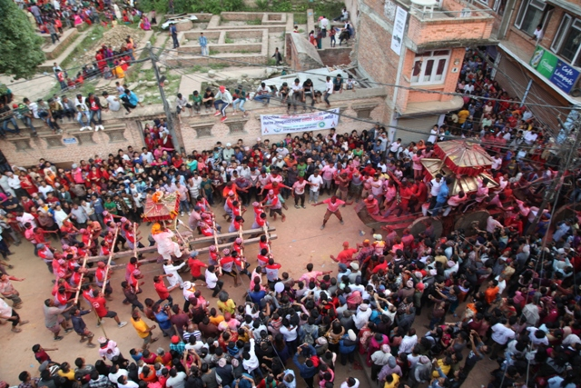 Jyaa Punhi Jatra fun filled procession
