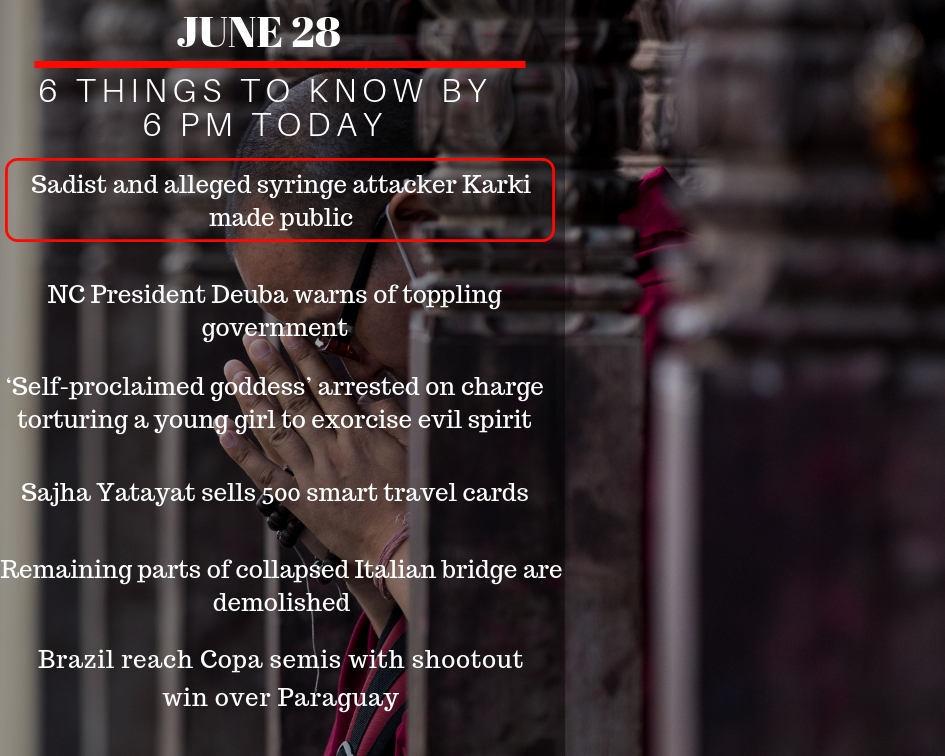 June 28: 6 things to know by 6 PM today