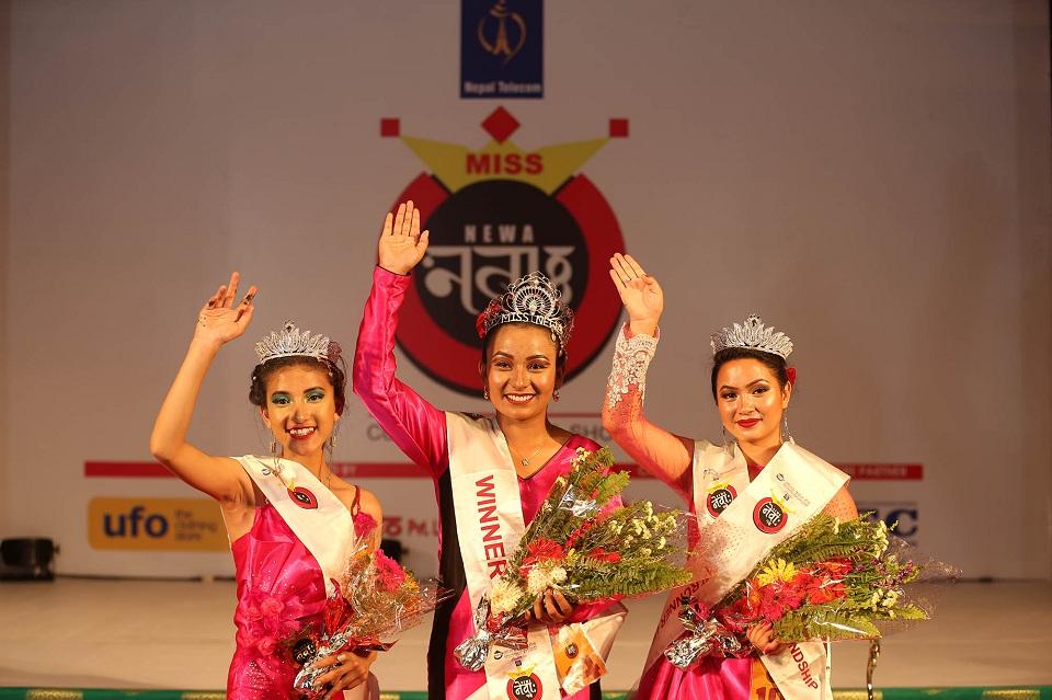 Nitu Dangol bags 14th 'Miss Newa: 1139'