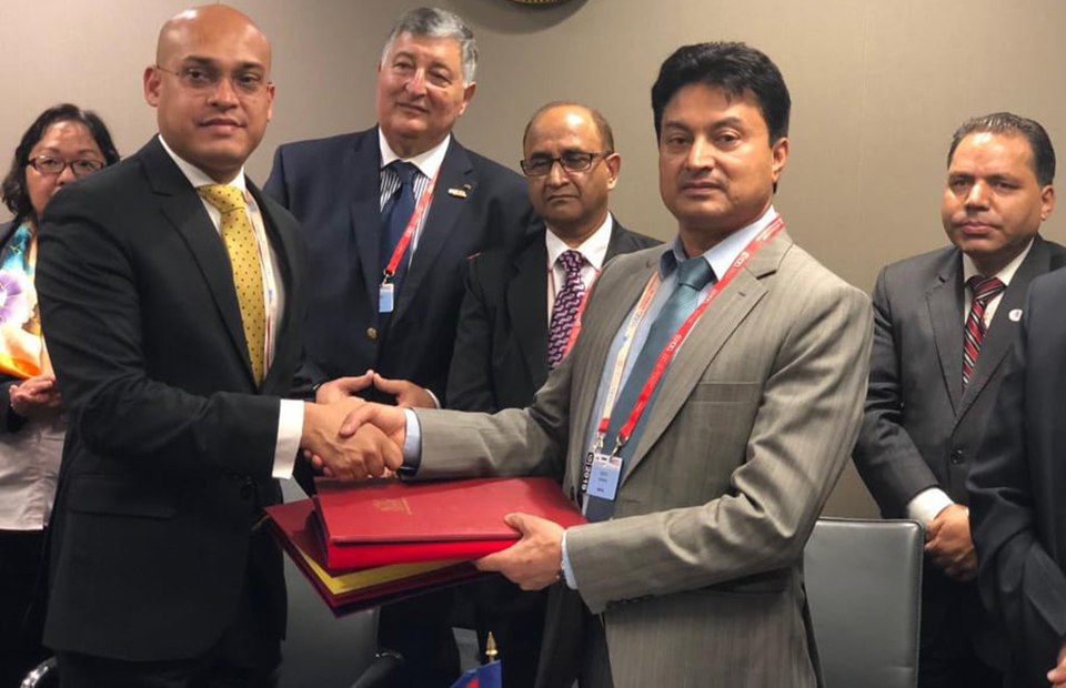 Nepal, Mauritius sign labor pact