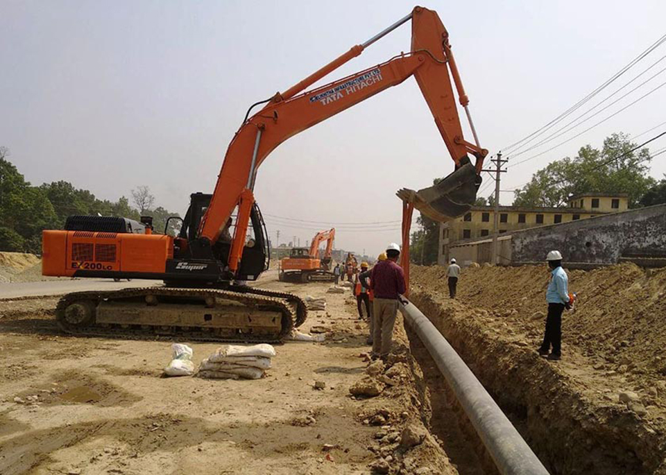 Work of laying petroleum pipeline completes, ready for operation