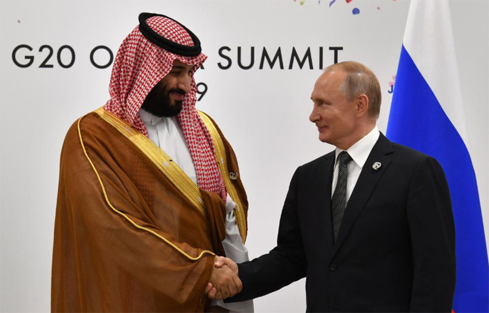 Russia happy to discuss energy cooperation with Saudi Arabia - Putin